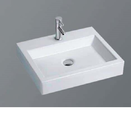 WB 4838 LUCCI Above Counter Basin *Glazed Back*