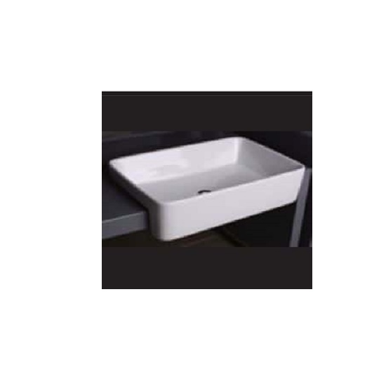 WB 5937C LEENA Semi-Recess Square Basin
