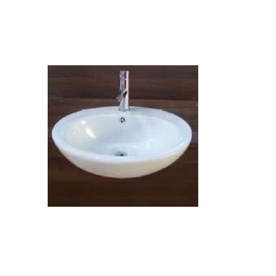 WB 5043 COMO Semi-Recess Oval Basin