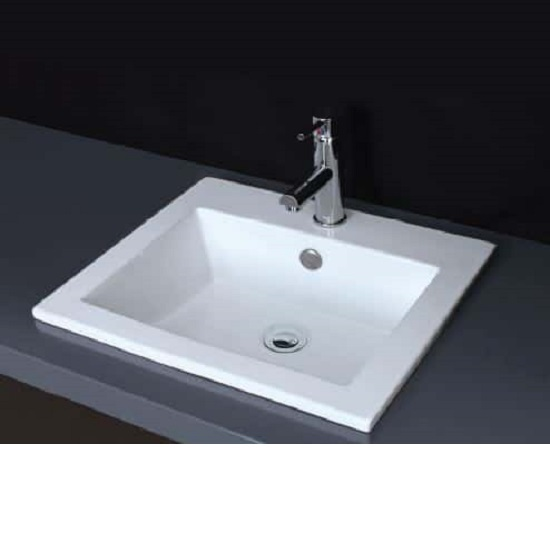 WB 4942-O LOIS II Rectangle Insert Basin