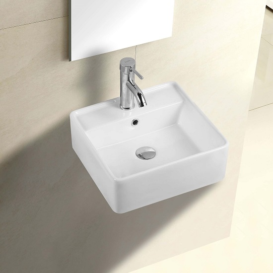 WB 4014W COCO Wall Hung Basin *Use 32mm with Overflow waste*