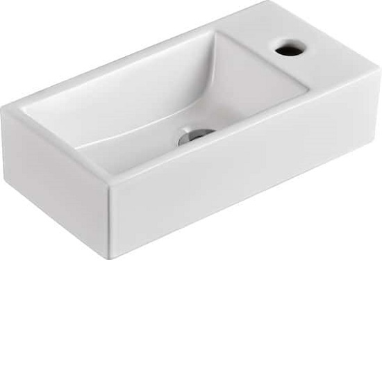 WB 4020W MINI Wall Hung Ceramic Basin