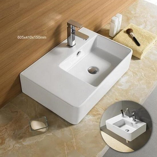 WB 6141W URBANO Wall Hung Basin