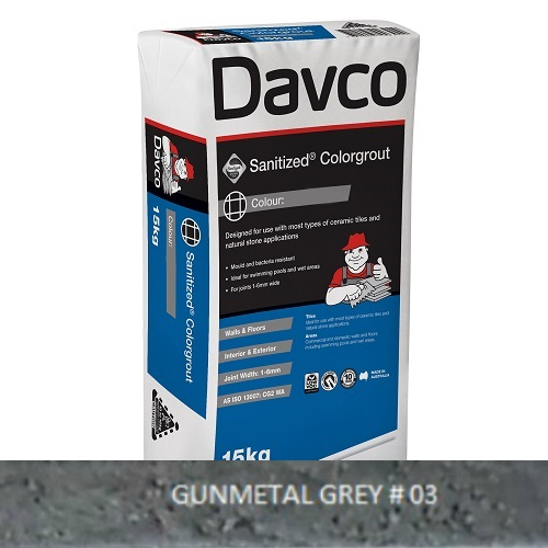 Sanitized® Colorgrout - 03 Gunmetal Grey 15kg