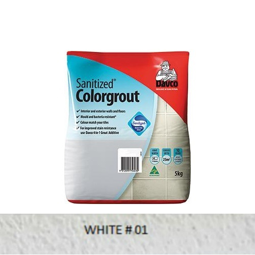 Sanitized® Colorgrout - 01 White 1.5kg