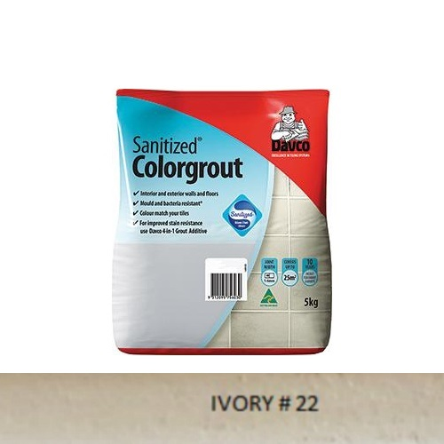 Sanitized® Colorgrout - 22 Ivory 1.5kg