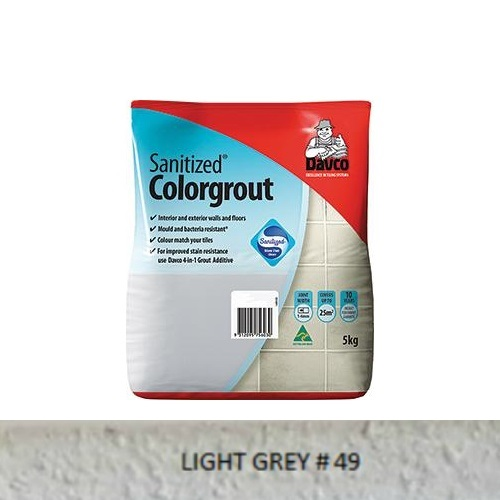 Sanitized® Colorgrout - 49 Light Grey 1.5kg