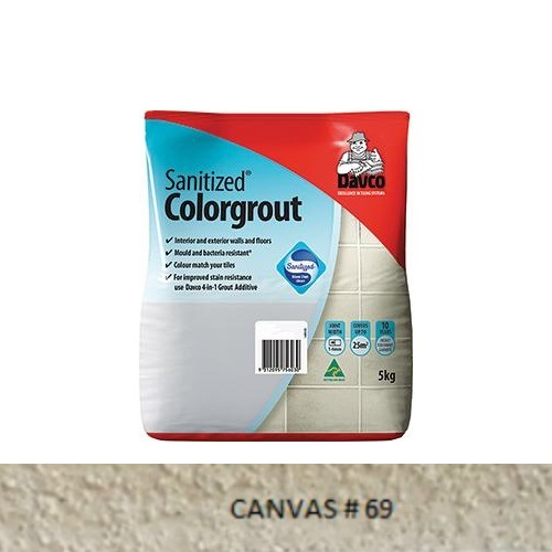 Sanitized® Colorgrout - 69 Canvas 1.5kg