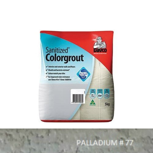 Sanitized® Colorgrout - 77 Palladium 1.5kg
