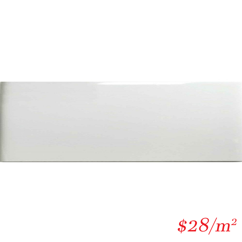LEO0010 GLOSS WHITE 100X300MM