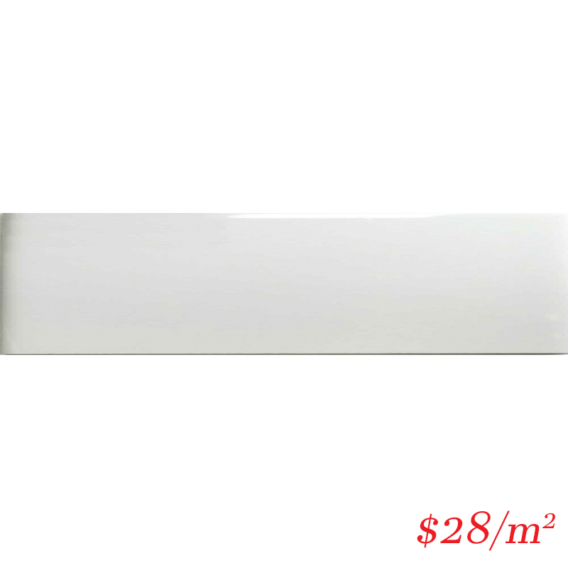 LEO0011 GLOSS WHITE 100X400MM