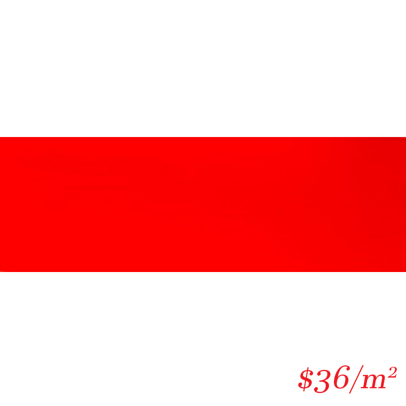 LEO0015 SUBWAY RED GLOSS 100X300MM