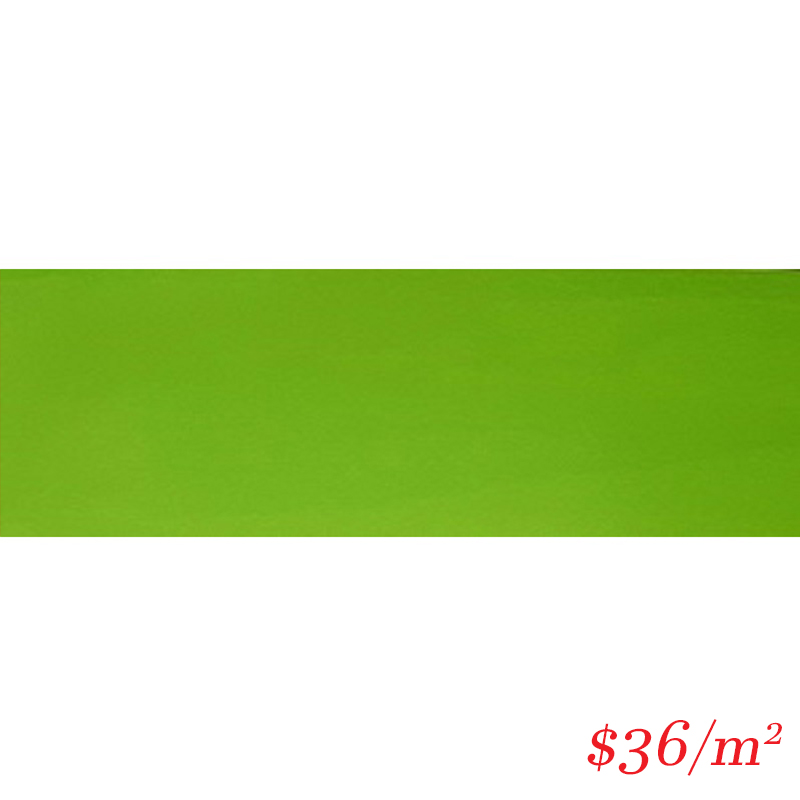LEO0016 SUBWAY LIME GREEN GLOSS 100X300MM