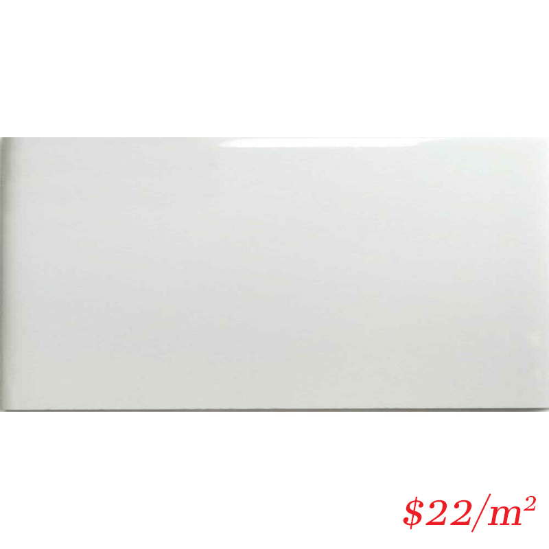 LEO0018 GLOSS WHITE 200X400MM