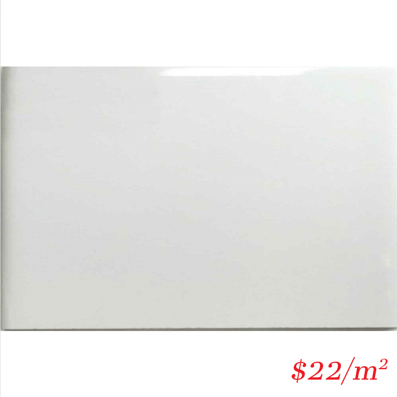 LEO0023 GLOSS WHITE 200X300MM