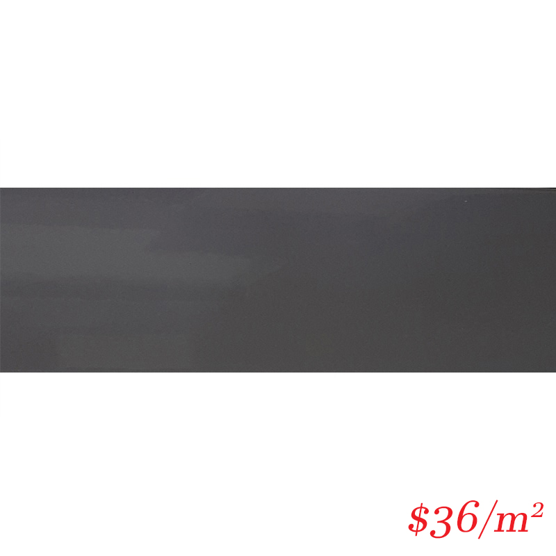 LEO0028 SUBWAY GLOSS DARK GREY 100X300MM
