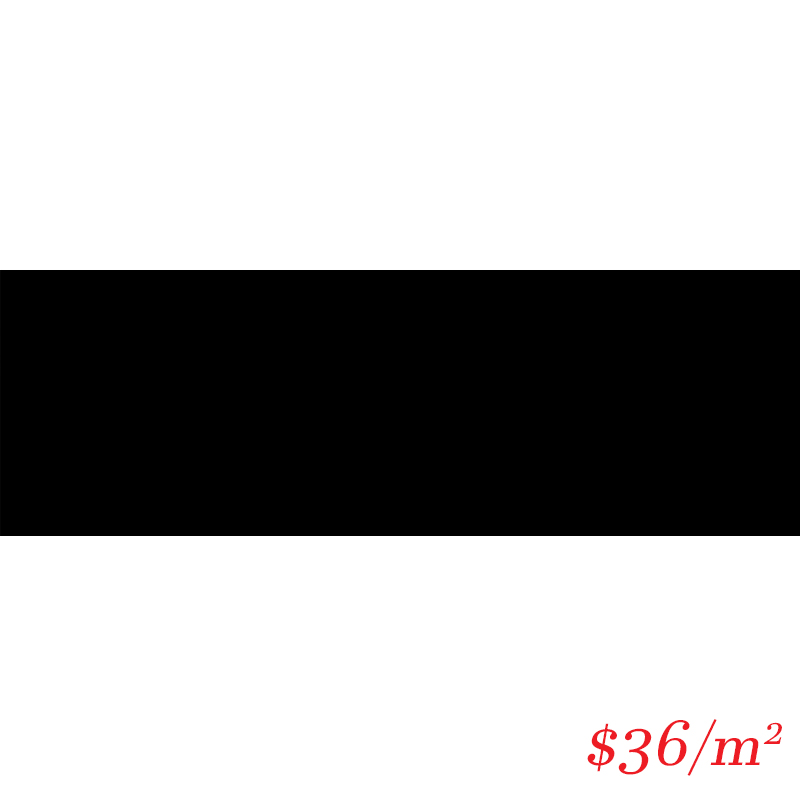 LEO0030 SUBWAY GLOSS BLACK 100X300MM