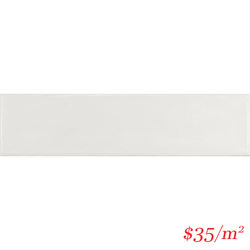 LEO0050 LODGE SUBWAY GLOSS WHITE 75X300MM