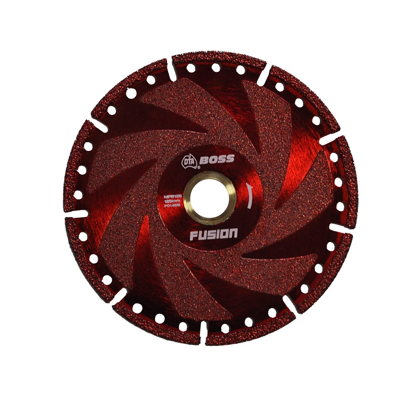 MPB125 FUSION DIAMOND MULTI-PURPOSE CONSTRUCTION BLADE 125MM