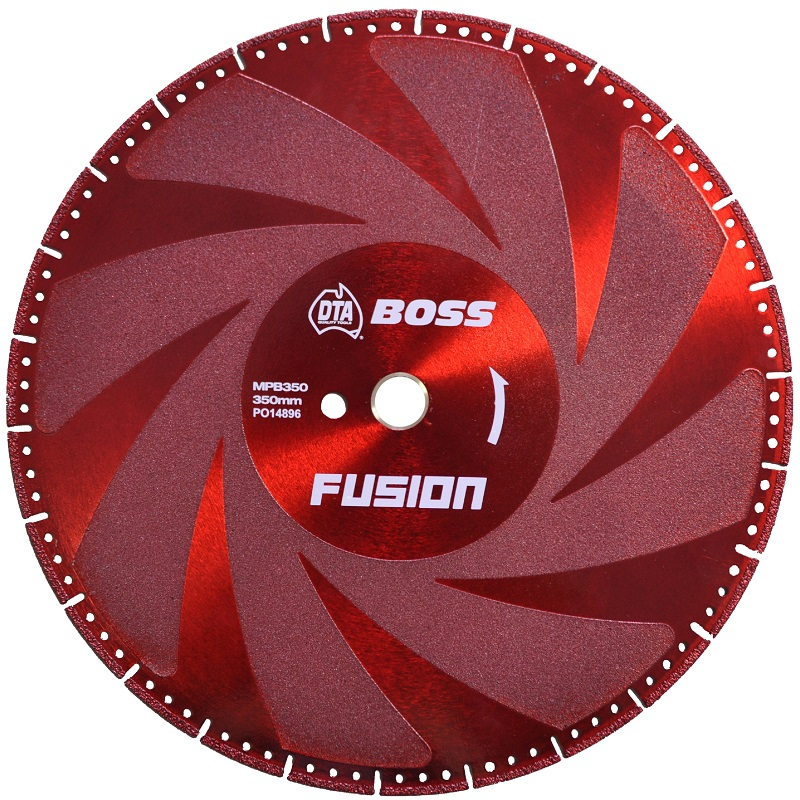 MPB350 FUSION DIAMOND MULTI-PURPOSE BLADE 350MM