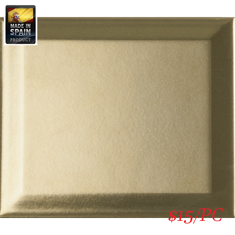 187783 ET_FORMA BISEL ORO SATIN 120X140MM Spain Made