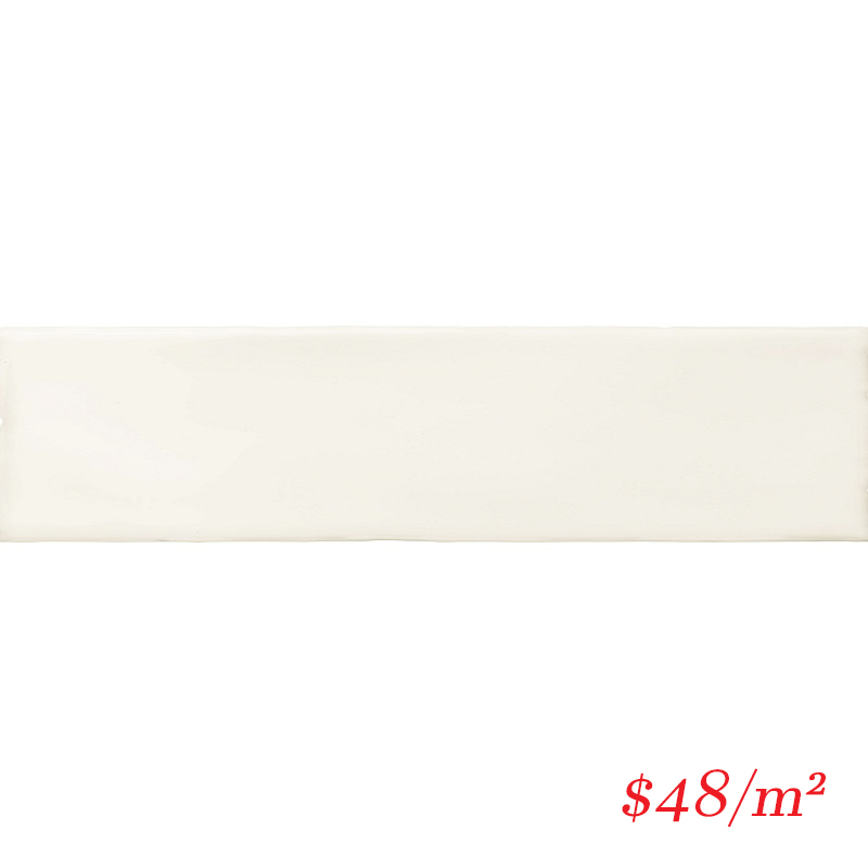 BLOWHI50200 BLOCK WHITE GLOSS 50X200MM