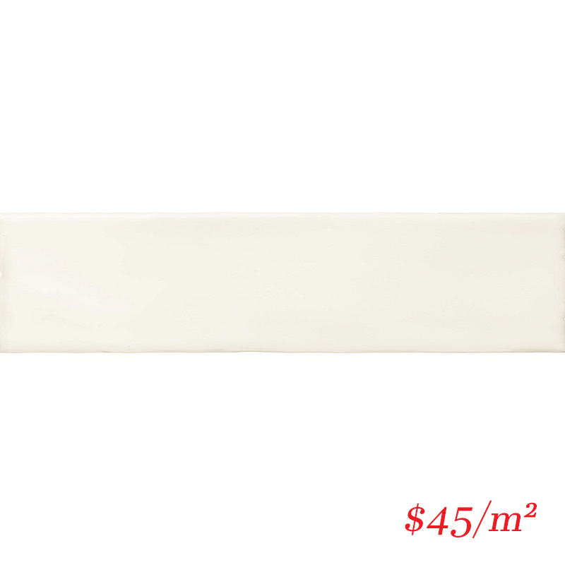 BLOWHI76302 BLOCK WHITE GLOSS 76X302MM