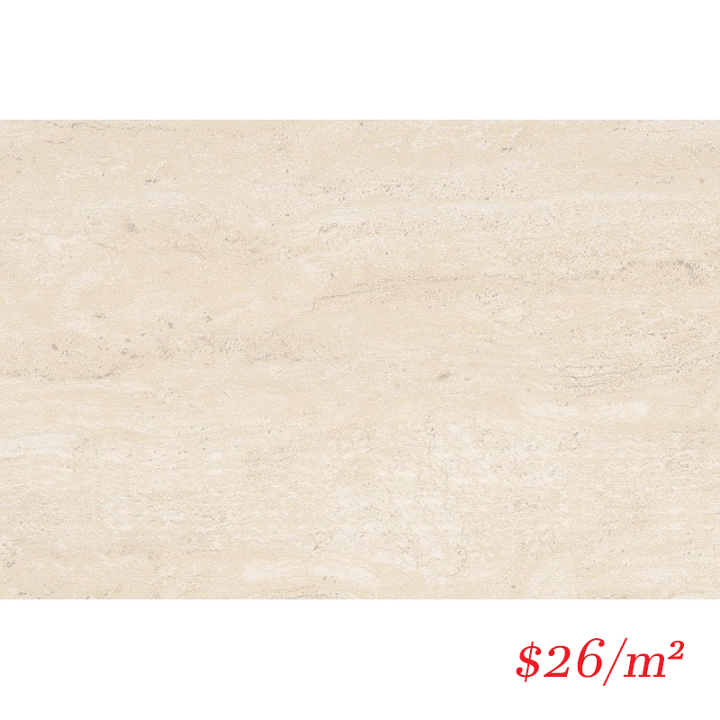 TRABEI3045G TRAVERTINA BEIGE GLOSS 300X450MM