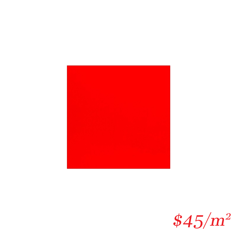 0A101 RED GLOSS 100*100MM