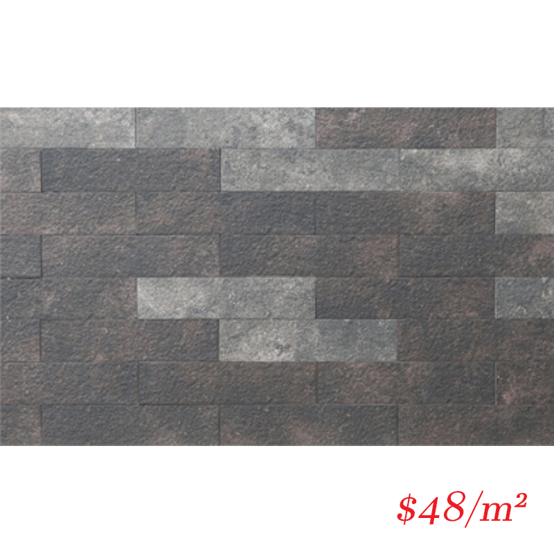 13LONCHB LD70306 LONDON CHARCOAL BRICK 70X300MM