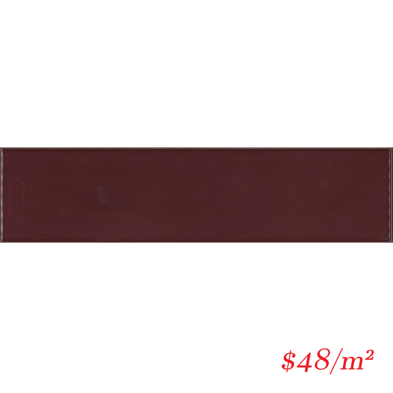 MERBUG13 HAM08G-W MEREWEATHER BURGANDY WAVY GLOSS 68X280MM