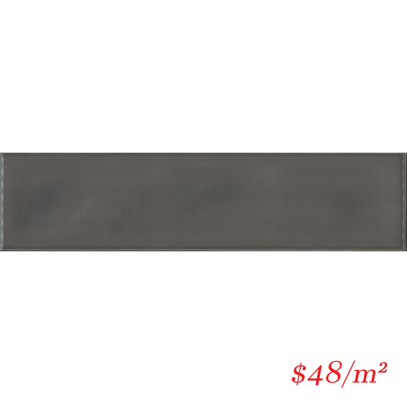 MERCHG13 HAM05G-W MEREWEATHER CHARCOAL WAVY GLOSS 68X280MM
