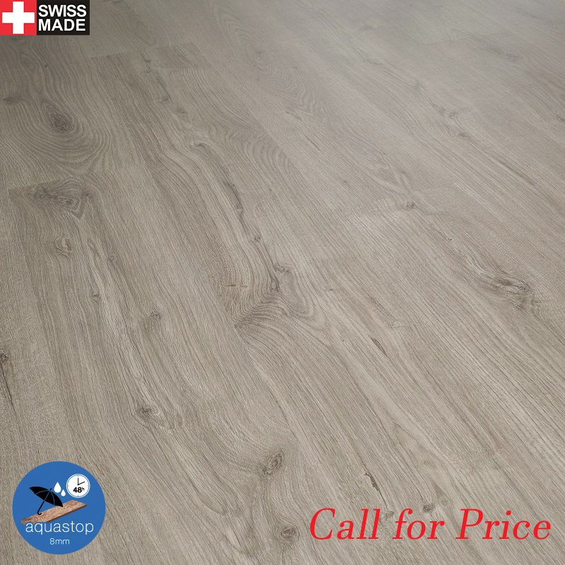 Kronoswiss Aquastop 8mm 48 hours protection AC4 V4 Micro Bevel - Natural Oak Grey