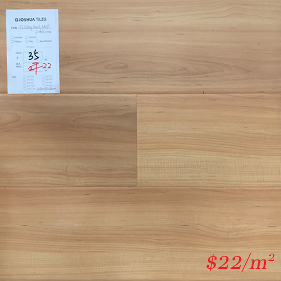 PINACO 12MM LAMINATE FLOOR - K409 Viking Beech Gloss