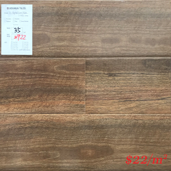 PINACO 12MM LAMINATE FLOOR - K622 Spotted Gum Gloss