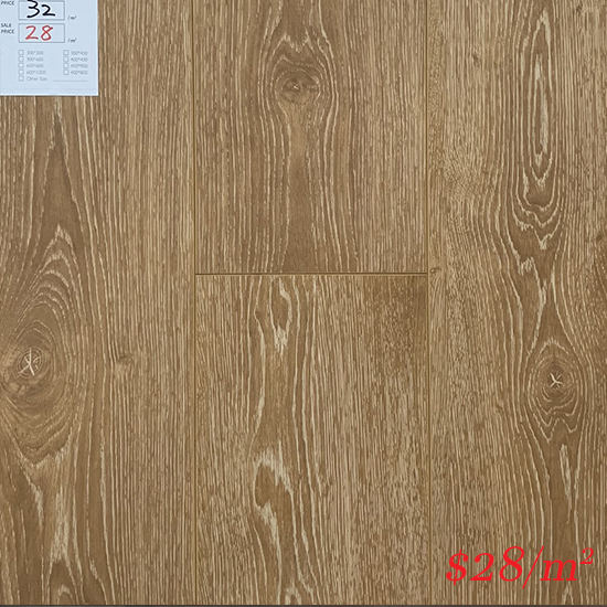 PINACO 12MM AC4 LAMINATE FLOOR - P002 Toscano
