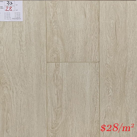 PINACO 12MM AC4 LAMINATE FLOOR - P005 Neve