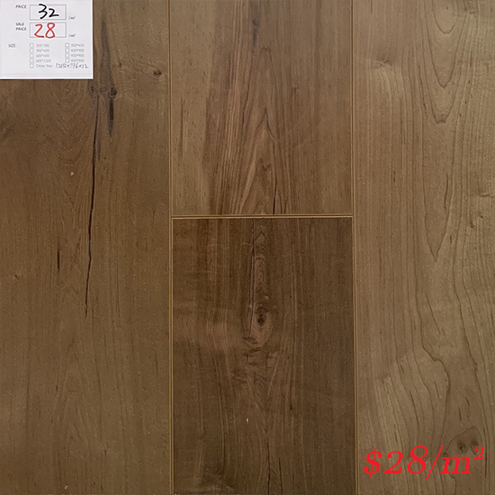 PINACO 12MM AC4 LAMINATE FLOOR - P011 Malano