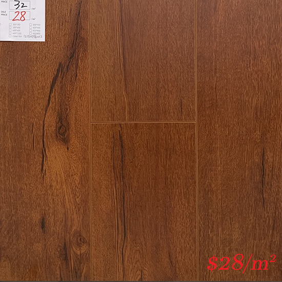 ECO FLOORING 12MM AC4 LAMINATE FLOOR - JT050312