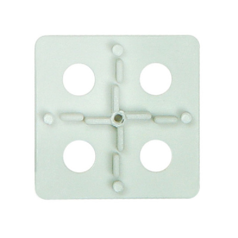 2FX100 ATR Tile Leveling White Floor Spacing Plates 100 pack