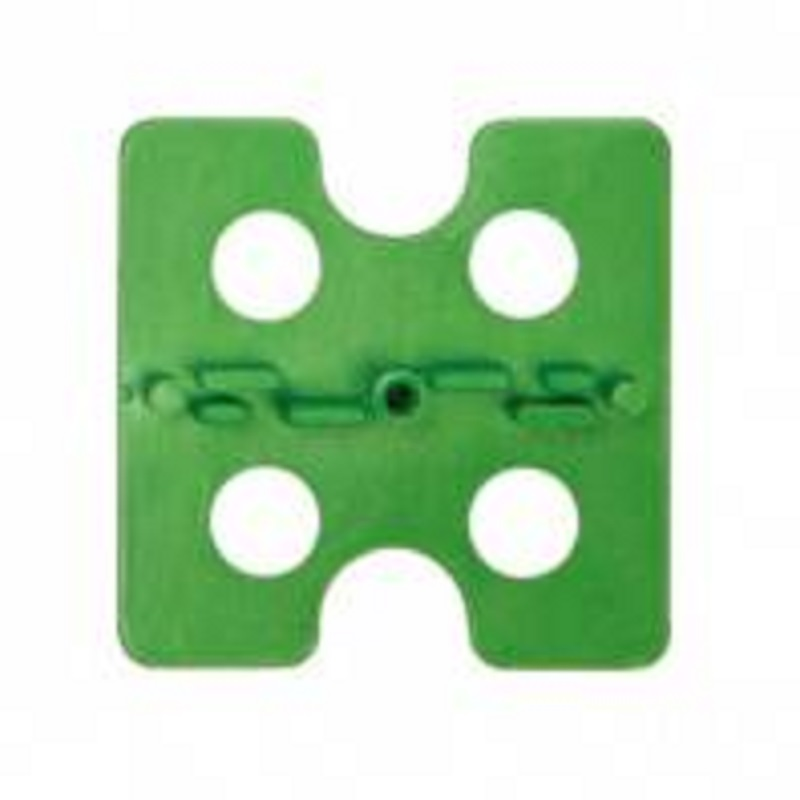 3FE100 ATR Tile Leveling Green Floor Edge Spacing Plates 100 pack