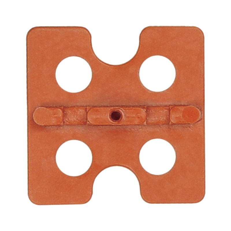 3UE100 ATR Tile Leveling Orange Edge Universal Spacing Plate 100 pack