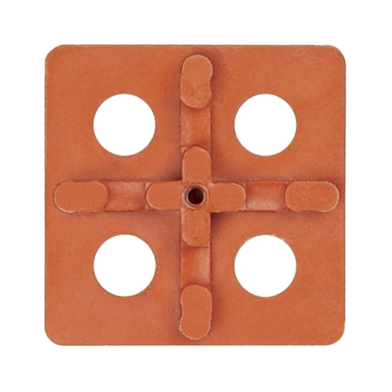 3UX100 ATR Tile Leveling Orange Cross Universal Spacing Plate 100 pack
