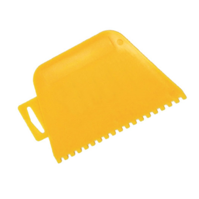 RDXT200 Square Notched Plastic Adhesive Spreader 4mm