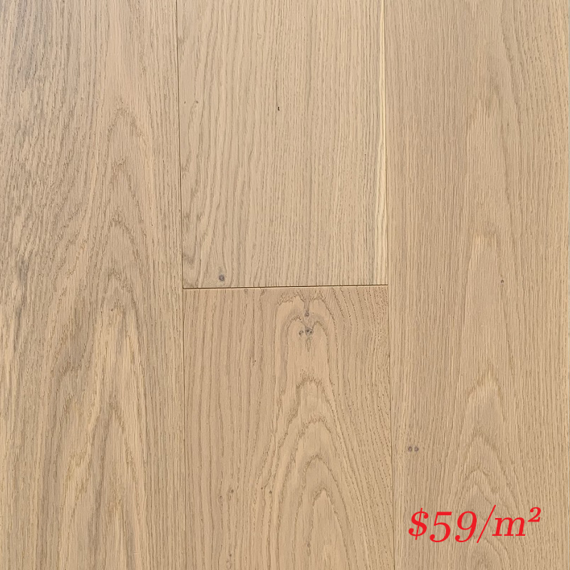 SUNSTAR ENGINEERED RIGID CORE TIMBER FLOOR - 1912 LIME WASH OAK