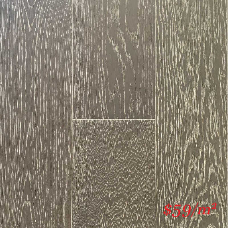 SUNSTAR ENGINEERED RIGID CORE TIMBER FLOOR - 1913 AGED GREY OAK