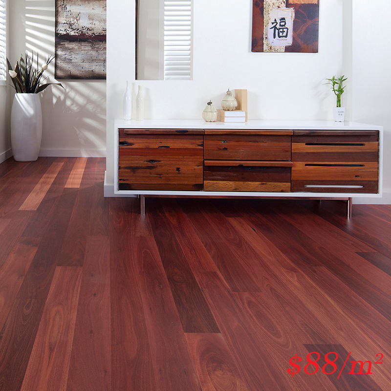 Barrington Australian Timber Hardwood Range - 127mm Jarrah Matt