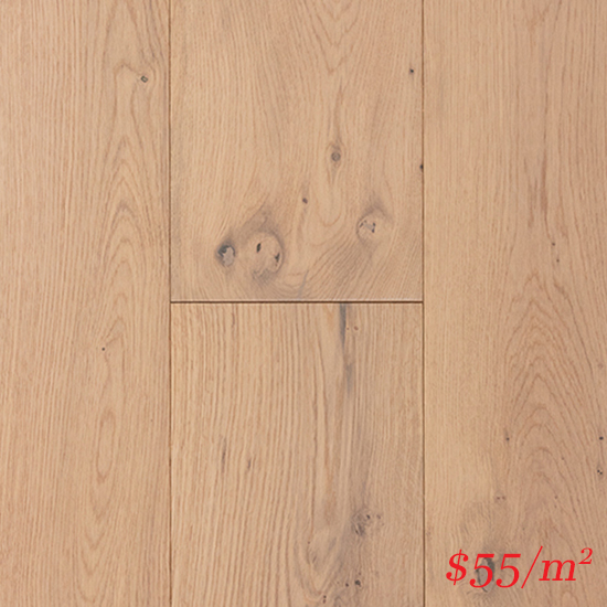 Terra-Mater Linwood European Oak (12mm) - Glacier White 3195