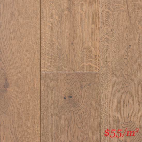 Terra-Mater Linwood European Oak (12mm) - Grey Pigeon 3521