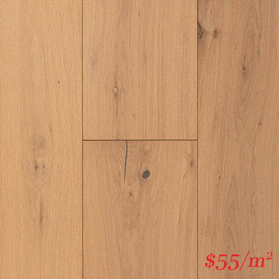 Terra-Mater Linwood European Oak (12mm) - Sand Dune 3967